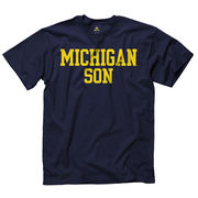 New Agenda University of Michigan Son Navy Tee
