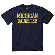 University of Michigan Daughter Navy Tee