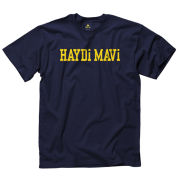 University of Michigan Turkish Navy Language Tee