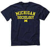 New Agenda University of Michigan Sociology Navy Tee