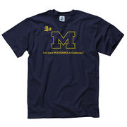 New Agenda University of Michigan Navy Wolverines in N. California Tee