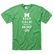 New Agenda University of Michigan Keep Calm and Paddy On Tee