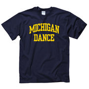 University of Michigan Dance Navy Sport Tee