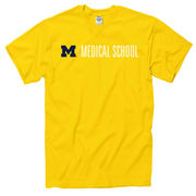 New Agenda University of Michigan Medical School Yellow Tee