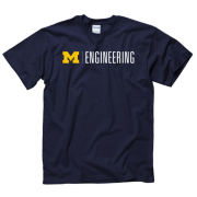 New Agenda University of Michigan Engineering Navy Tee