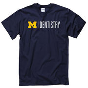 University of Michigan School of Dentistry Navy Tee