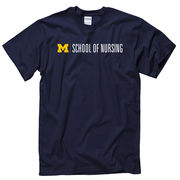 University of Michigan School of Nursing Navy Tee