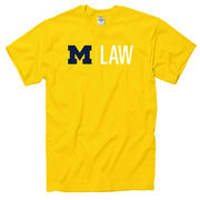 University of Michigan Law School Yellow Tee