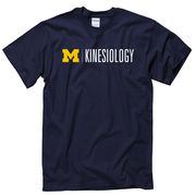 University of Michigan School of Kinesiology Navy Tee