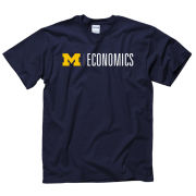 University of Michigan Economics Navy Tee