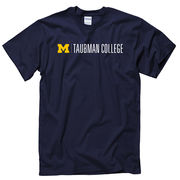 University of Michigan Taubman College of Architecture and Urban Planning Navy Tee