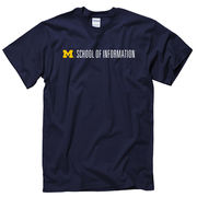 New Agenda University of Michigan School of Information Navy Tee