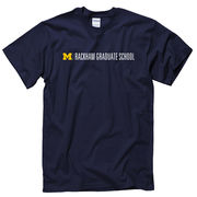 New Agenda University of Michigan Rackham Graduate School Navy Tee