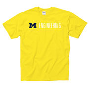 University of Michigan Engineering Yellow Tee