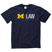 University of Michigan Law School Alumni Navy Tee