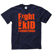 New Agenda #ChadTough Fight Like a Kid Navy Tee