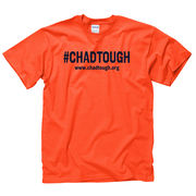 New Agenda #ChadTough Foundation Orange Tee