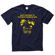 New Agenda University of Michigan Ufer/Schembechler Spring Game Tee