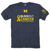 New Agenda UofM Mott Children's Hospital Block Out Cancer Tee
