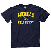 New Agenda University of Michigan Field Hockey Navy Sport Tee
