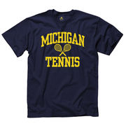 University of Michigan Tennis Navy Sport Tee