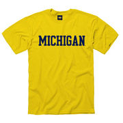 New Agenda University of Michigan Yellow Basic Tee