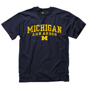 New Agenda University of Michigan Navy Ann Arbor Tee