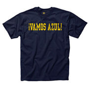 New Agenda University of Michigan Spanish Go Blue Navy Language Tee