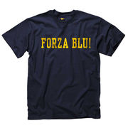 University of Michigan Italian Navy Language Tee