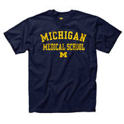 University of Michigan Medical School Navy Tee