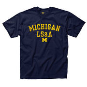 University of Michigan College of Literature, Science & the Arts (LS&A) Navy Tee