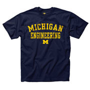 University of Michigan Engineering Navy School Tee