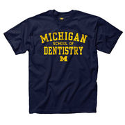 New Agenda University of Michigan School of Dentistry Navy Tee