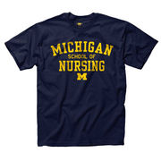 New Agenda University of Michigan School of Nursing Navy Tee