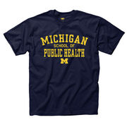 University of Michigan School of Public Health Navy Tee