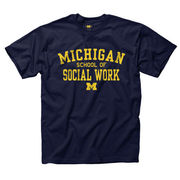 New Agenda University of Michigan Social Work Tee