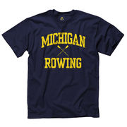 New Agenda University of Michigan Rowing Navy Sport Tee