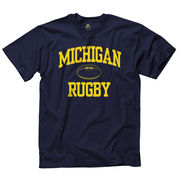 New Agenda University of Michigan Rugby Navy Sport Tee