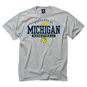 New Agenda University of Michigan Basketball Gray
