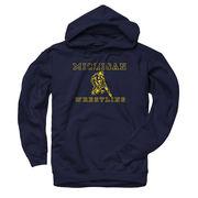 New Agenda University of Michigan Wrestling Navy Hooded Sweatshirt