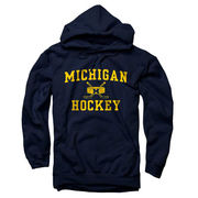 New Agenda University of Michigan Hockey Navy Hooded Sweatshirt