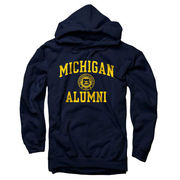 New Agenda University of Michigan Alumni Seal Hooded Sweatshirt