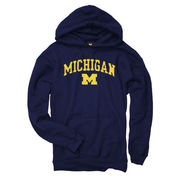 New Agenda University of Michigan Navy Hooded Sweatshirt