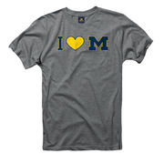 New Agenda University of Michigan Juniors Oxford I Heart M Tee