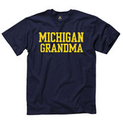 New Agenda University of Michigan Grandma Navy Tee