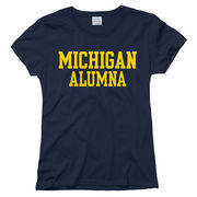 New Agenda University of Michigan Alumna Navy Tee