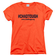 #ChadTough Foundation Ladies Orange Tee