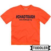 New Agenda #ChadTough Foundation Toddler Orange Tee