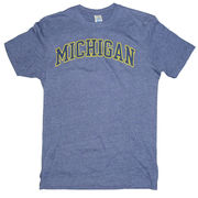 New Agenda University of Michigan Midnight Heather Navy Tee