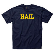 New Agenda University of Michigan Navy HAIL Tee